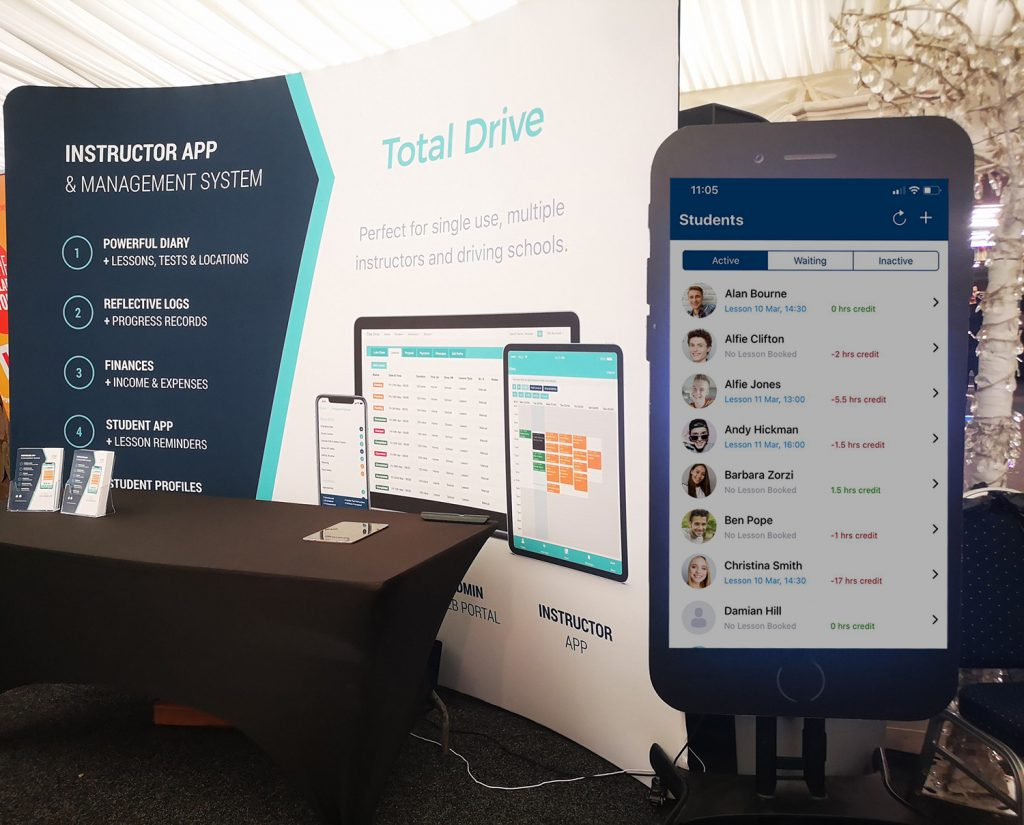 Total Drive at the Driving Instructor's Conference & Expo 2021